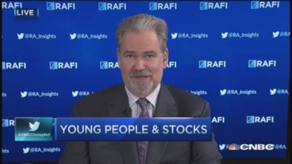 Young investors load up on stocks