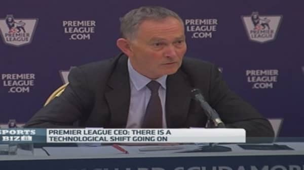 Sky, BT pay $7.7B for Premier League soccer rights
