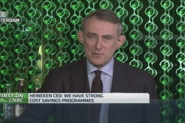 Heineken 'cautious' on revenue growth