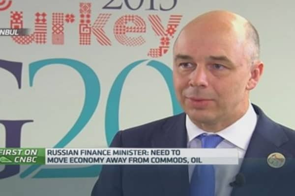 'Dire straights' in Russia will force reform: Fin Min
