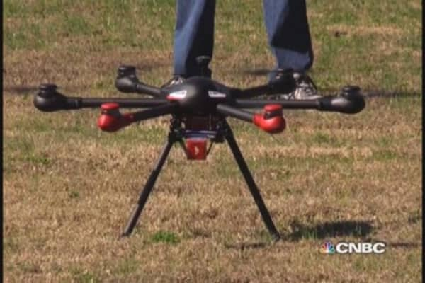 Farm show buzzes over drones