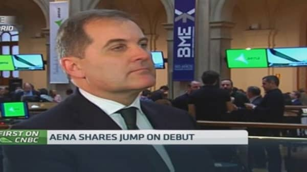 Aena CEO: Aena & the Spanish economy