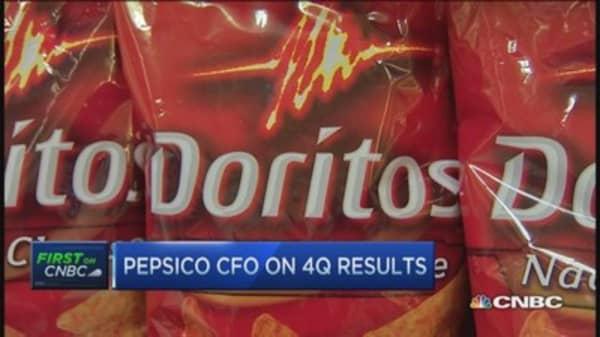 PEP CFO: PepsiCo has momentum