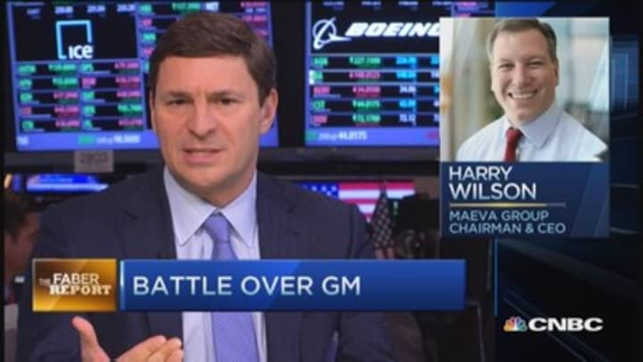 Faber Report: Battle over GM