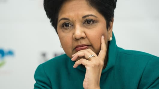 Indra Nooyi s exit is a reminder of how much needs to be done to boost women  CEO ranks fcb735aaa