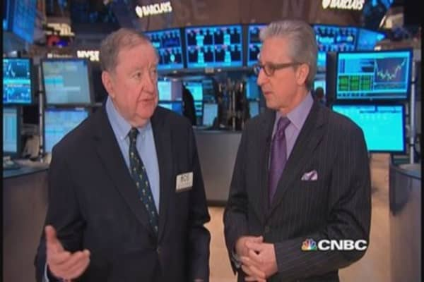 Cashin says markets held at bay