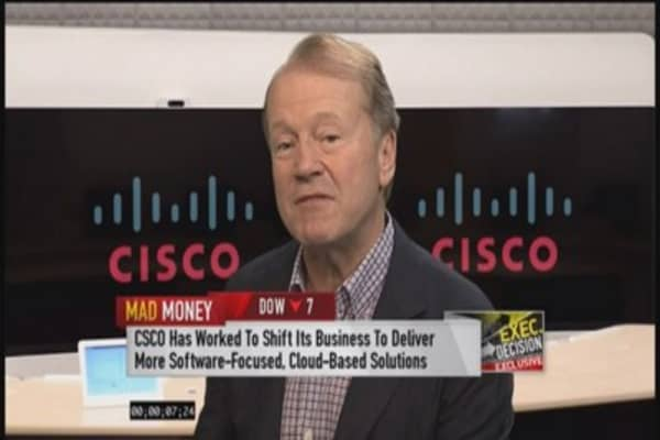 Cisco's Chambers: Europe in a return state
