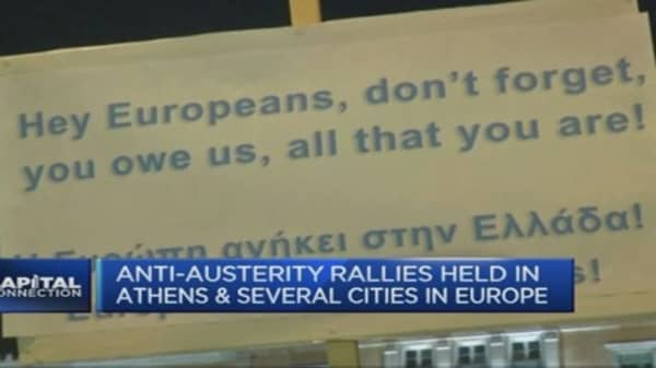 Greek deal soon? Maybe not, says EY advisor