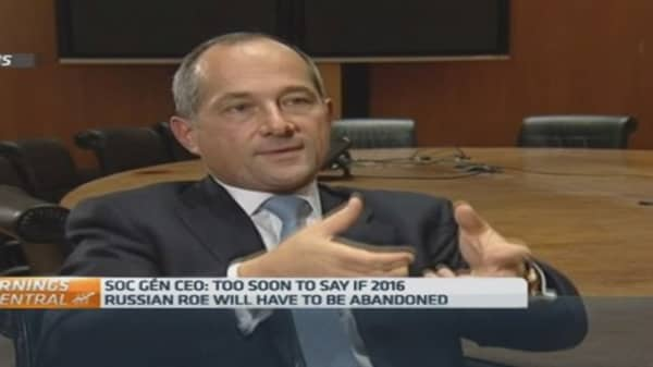 2015 will be difficult in Russia: SocGen