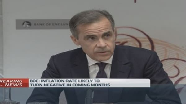 BoE pushes back rate hike expectations