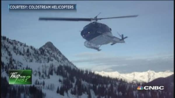 Heli-ski pilot: Best job in world?