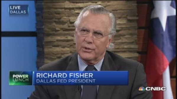 Fed's Fisher: Rates will be raised in 2015