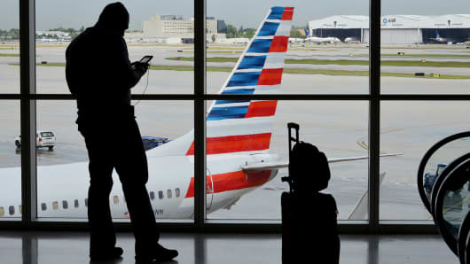 American Airlines suspends flights to Venezuela amid unrest