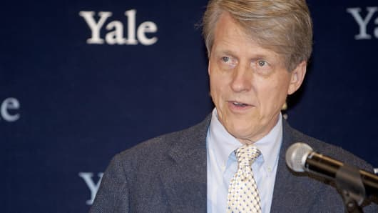 Yale University professor of economics Robert Shiller.