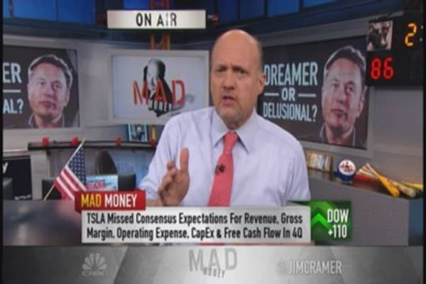 Cramer: Tesla - great car, bad company