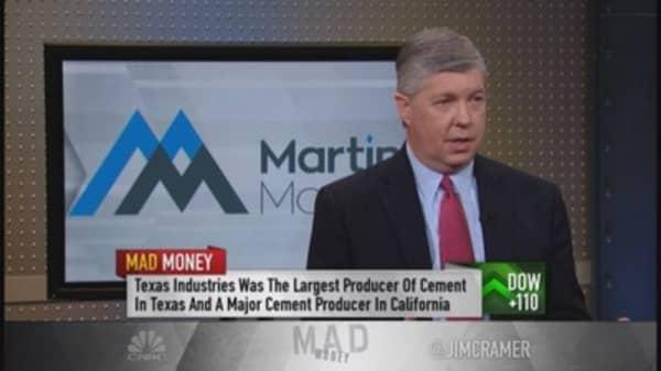 Martin Marietta CEO: Comeback feels good