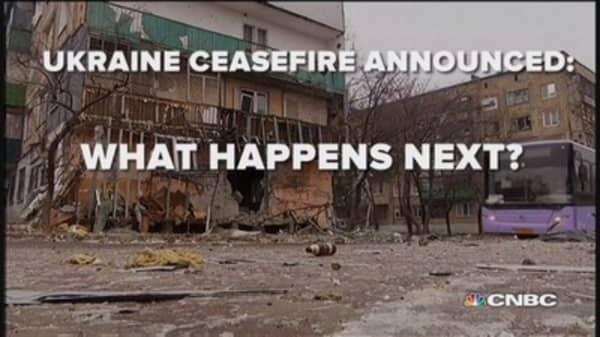 Ukraine cease-fire: What happens next?