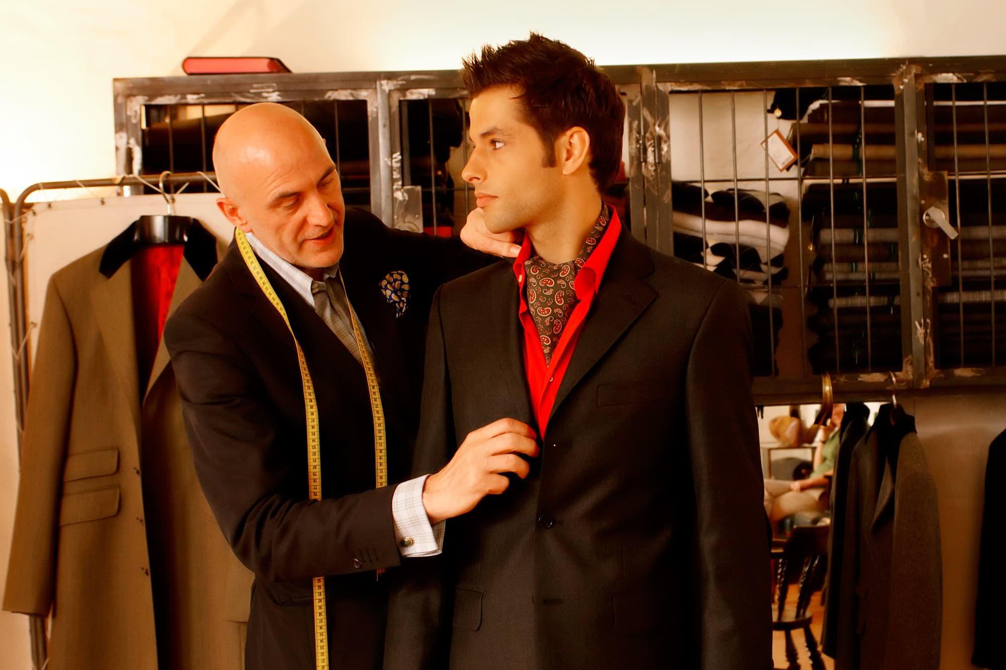 46701fe48037 How far do men go for a bespoke suit  Around the world