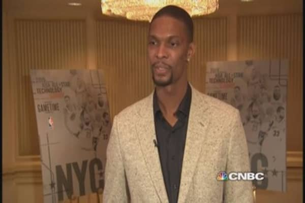 Chris Bosh talks tech