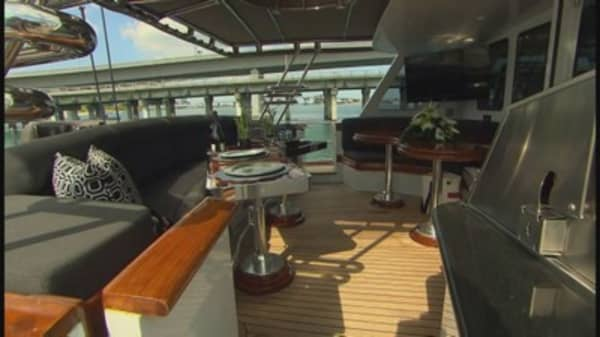Miami boat show highlights
