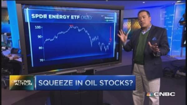 Short squeeze ahead for oil stocks?
