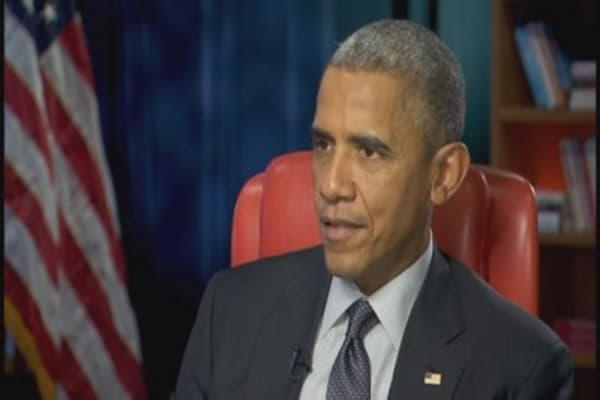 Individuals should own their own data: Obama