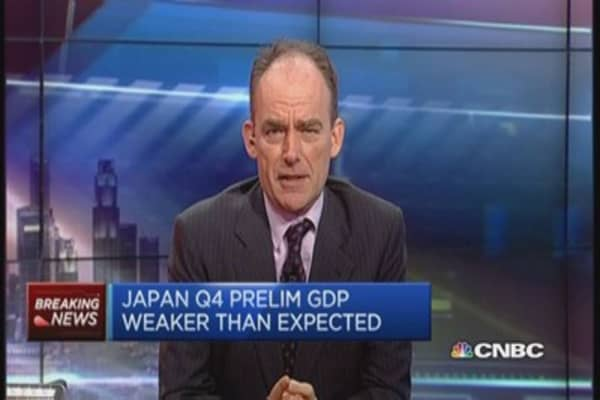 Japan is 'out of technical recession': S&P
