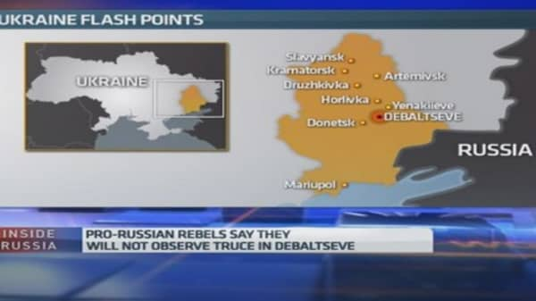 Ukraine crisis: Sanctions are here to stay