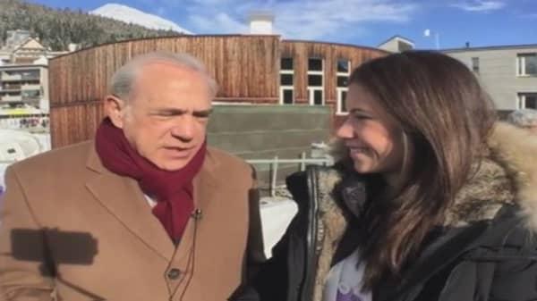 CNBC's selfie stick Davos interviews