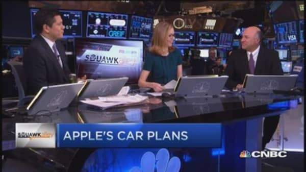 O'Leary: Yes to Apple car