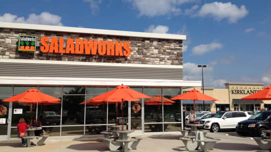 Saladworks location