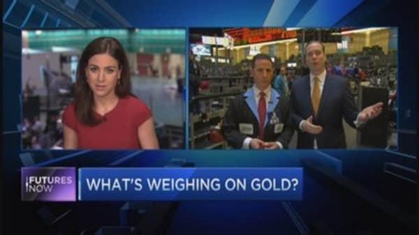 Traders Kilburg and Iuorio debate gold