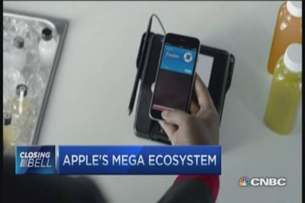 Apple's mega ecosystem