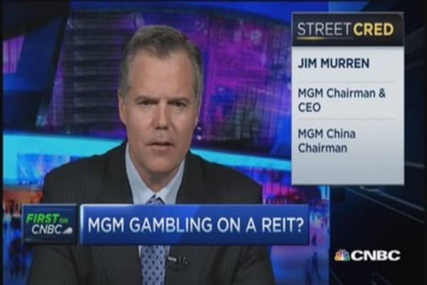 MGM CEO: Putting valuable real estate to use