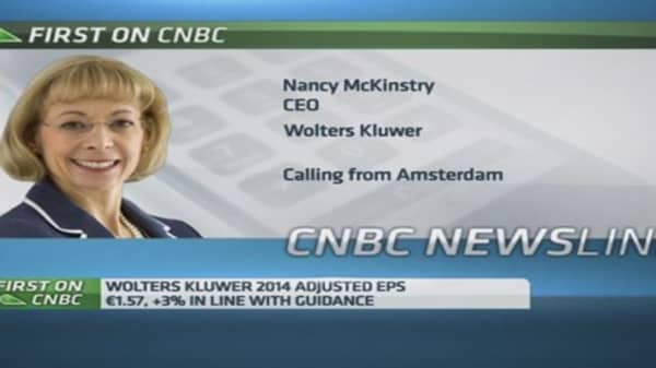 We'll spend $34-40M on restructuring: Wolters Kluwer