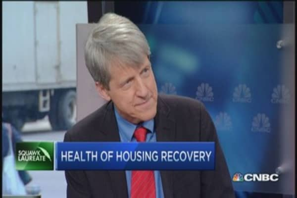 Shiller: Home prices right level based on history