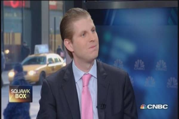 NYC real estate is really hot: Eric Trump