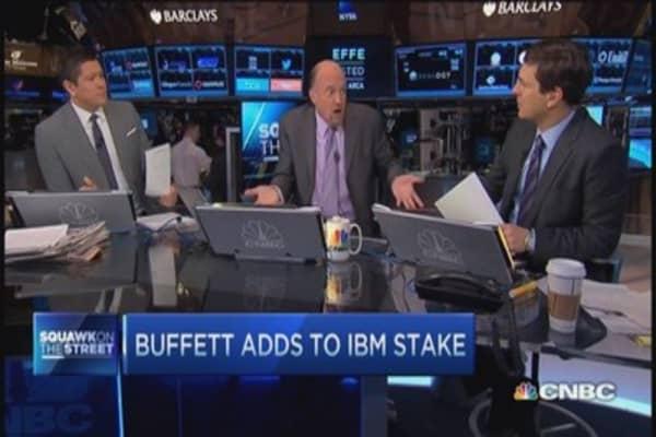 Buffett ups IBM stake