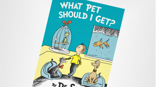 Dr. Seuss What Pet Should I Get