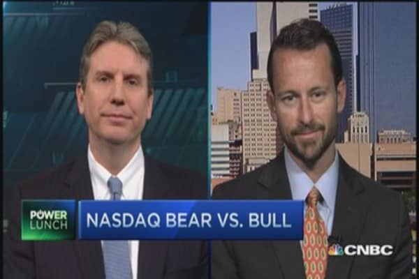 Nasdaq bull vs. bear