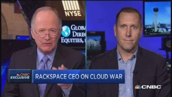 Rackspace CEO: Pie for Cloud gets bigger