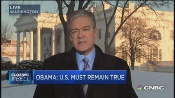 Obama: The threat of violent extremism
