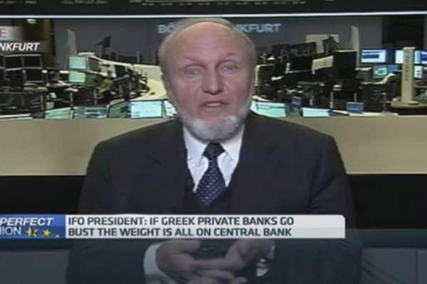 Greece should return to drachma: Ifo's Sinn