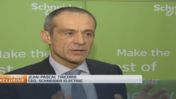 Schneider Electric aims for $1.1B cost cutting
