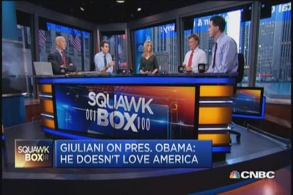 Giuliani: I do not believe President Obama loves America