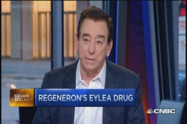 Regeneron drug tops eye study