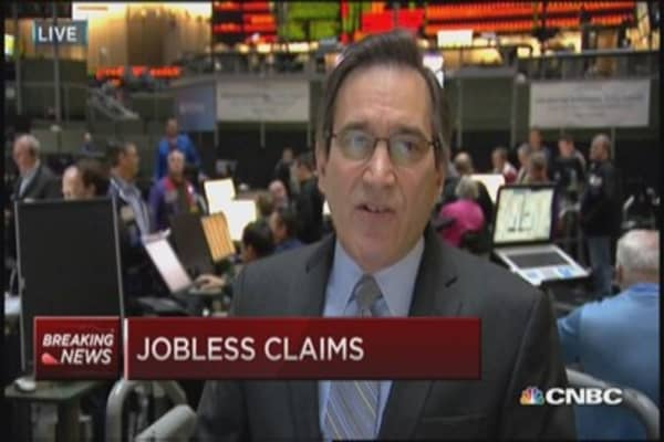 Initial jobless claims total 283,000