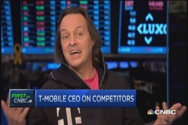 T-Mobile CEO: Accused of thinking more about customers than shareholders