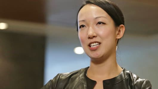 Hearsay Social founder and CEO Clara Shih