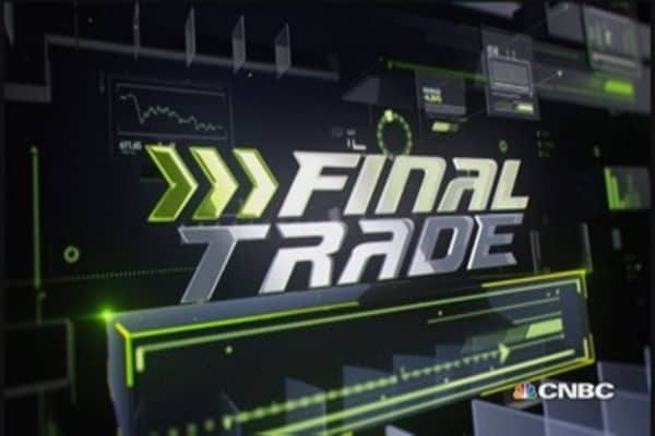 Fast Money Final Trade: EWJ, MSFT, RTN & FB